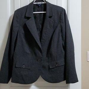 Encore - Dark Slate Grey Blazer Size 16